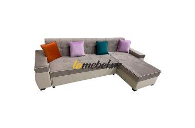 Угловой диван-кровать «Титаниум»