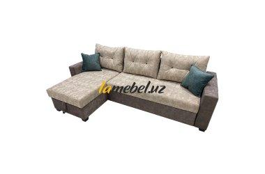"""Угловой диван-кровать """"Монако Light Grey"""""""