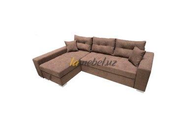 """Угловой диван-кровать """"Irish Brown"""""""