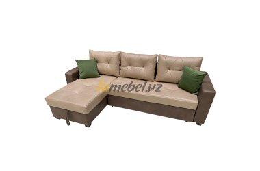 """Угловой диван-кровать """"Монако Light Brown"""""""