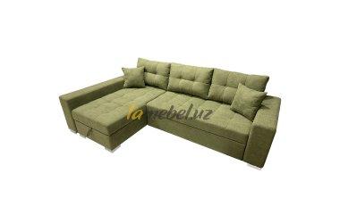 """Угловой диван-кровать """"Irish Green"""""""