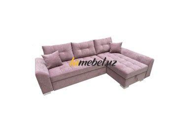 Угловой диван-кровать «Форли Pink»