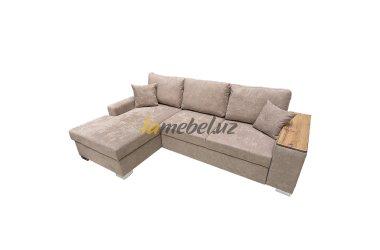 Угловой диван-кровать «Уильям Dark beige»