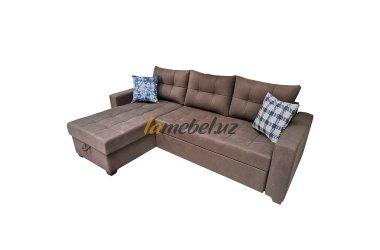 """Угловой диван-кровать """"Монако Brown-2"""""""