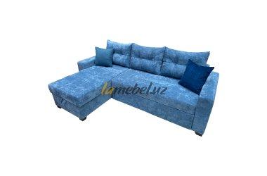 Угловой диван-кровать «Monaco Blue»