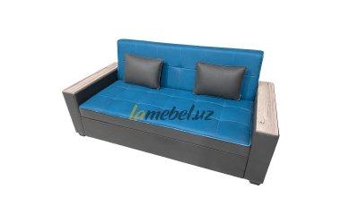 Прямой диван-кровать «Авейру Blue»