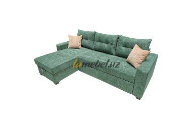 Угловой диван-кровать «Monaco Green»