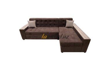 Угловой диван «Дакар-Brown»