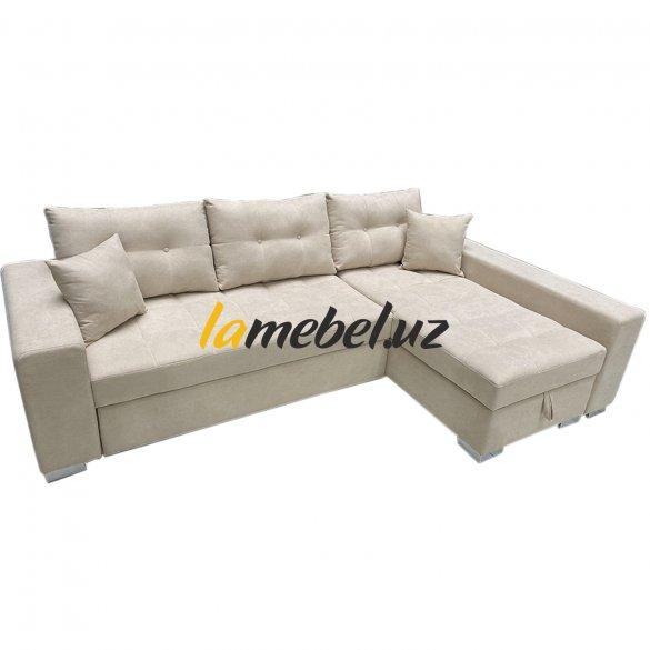 "Угловой диван-кровать ""Irish White"""