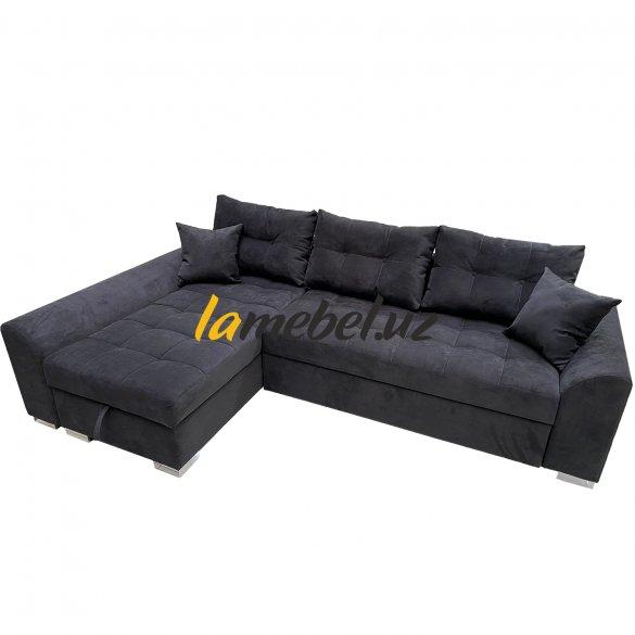 Угловой диван-кровать «Форли-2 Black»