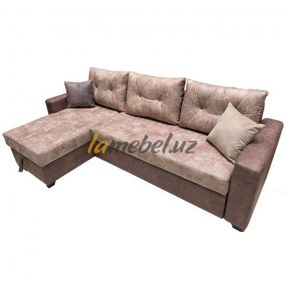 "Угловой диван-кровать ""Монако Purple"""