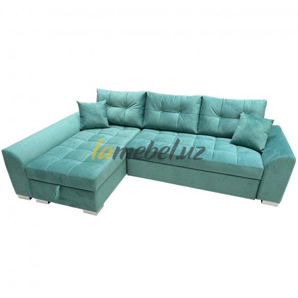Угловой диван-кровать «Форли-2 Green»