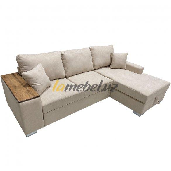Угловой диван-кровать «Уильям White»
