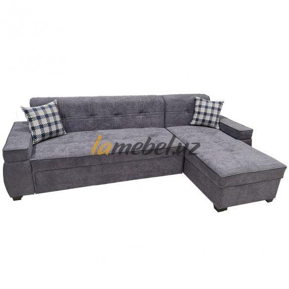 Угловой диван-кровать «Титаниум-2 Grey»