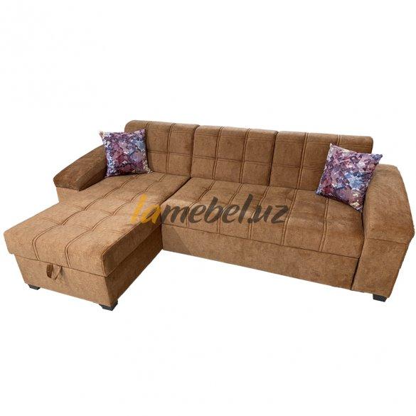 Угловой диван-кровать «Milan-Orange»
