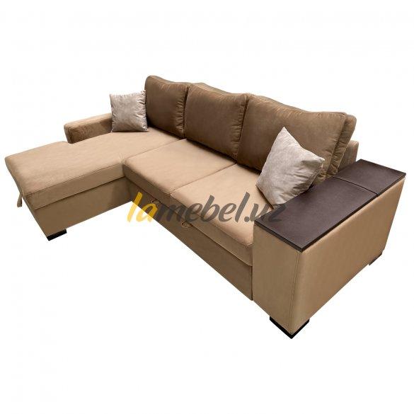 Угловой диван-кровать «Уильям Brown»
